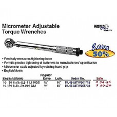 """3/8"""" Drive Micrometer Adjustable Torque Wrench"""